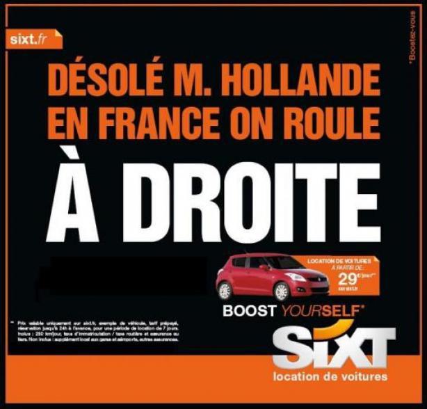 llllitl-sixt-publicité-loueur-véhicules-automobile-homme-politique-candidat-élection-présidentielle-avril-2012-gauche-droite