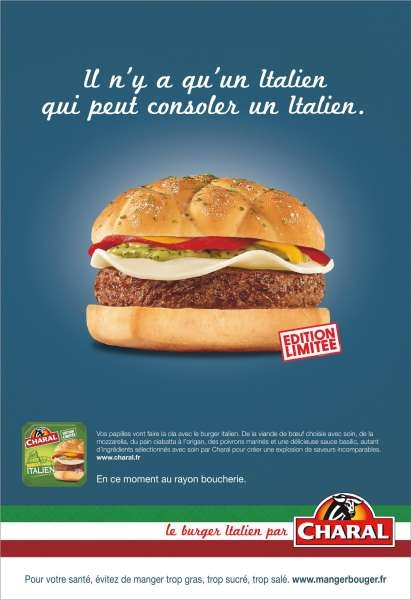llllitl-charal-publicité-print-italie-espagne-euro-2012-défaite-victoire-hamburger-consoler-italien-leo-burnett-juillet-2012