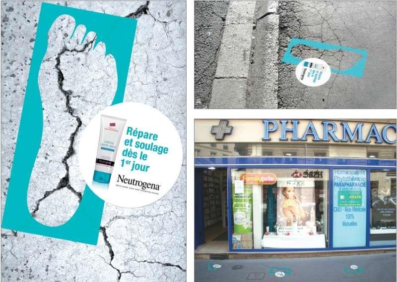 llllitl-neutrogena-opération-marketing-street-marketing-paris-pieds-crème-réparatrice-fissures-peau-sèche-ddb-paris-juillet-2012