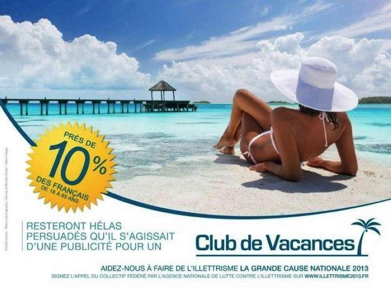 llllitl-Agence Nationale de Lutte contre l'Illettrisme (ANLCI)-publicité-marketing-print-affichage-affiche-club-de-vacances-été-agence-ddb-paris