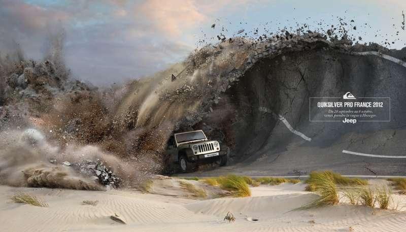llllitl-jeep-france-publicité-print-quiksilver-surf-hossegor-vague-quik-pro-france-compétition-septembre-octobre-2012-agence-léo-burnett