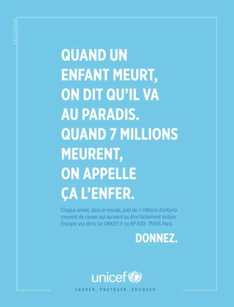 llllitl-unicef-publicité-print-world-food-day-paradis-enfer-agence-betc-euro-rscg