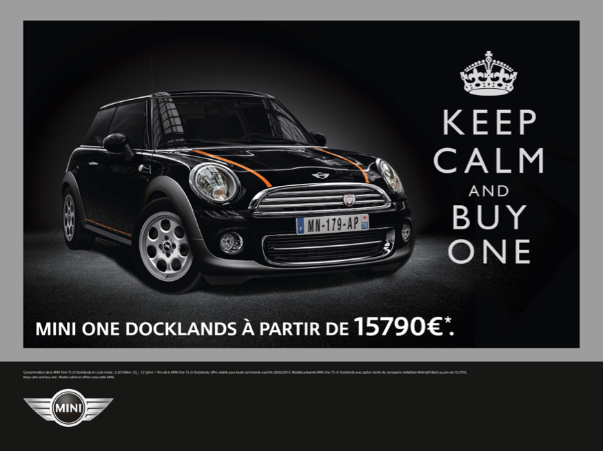 llllitl-mini-france-publicité-print-voiture-keep-calm-and-buy-one-meme-agence-ddb-paris