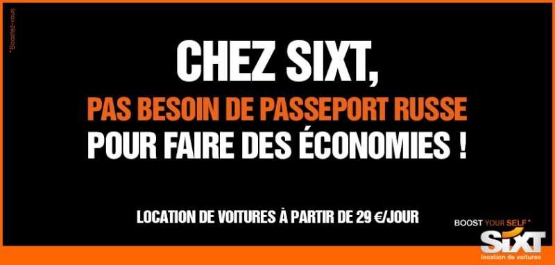 llllitl-sixt-loueur-de-voitures-publicité-print-buzz-gérard-depardieu-russie-passeport-russe-économies-fiscalité-impôts-france-viral