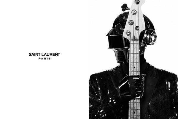 llllitl-yves-saint-laurent-paris-daft-punk-fashion-publicité-ad-commercial-advertising-marketing-brand-guitar-black-and-white