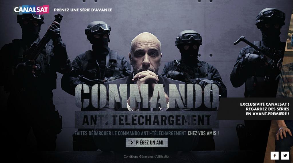 canal+-plus-séries-publicité-commando-anti-téléchargement-streaming-piratage-police-agence-betc