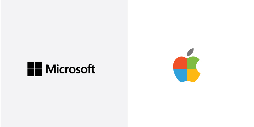 microsoft-apple-logos-colours-swap-brand-identity-design-6
