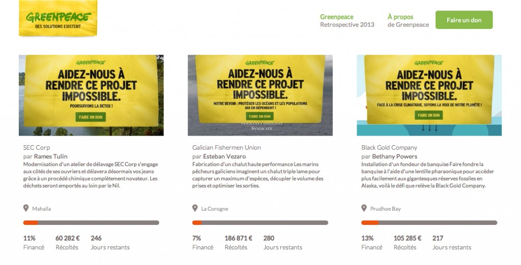 greenpeace-kill-starter-kick-starter-projets-faux-impossible-marketing-digital-publicité-environnement