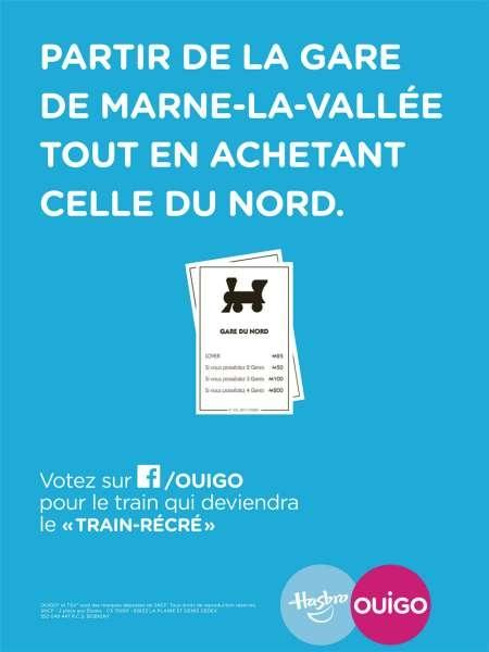 ouigo-hasbro-train-récré-publicité-enfants-marketing-jeux-société-marne-la-vallée-gare-play-doh-monopoly-agence-ddb-paris-1