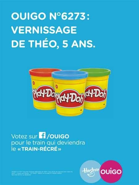 ouigo-hasbro-train-récré-publicité-enfants-marketing-jeux-société-marne-la-vallée-gare-play-doh-monopoly-agence-ddb-paris-2