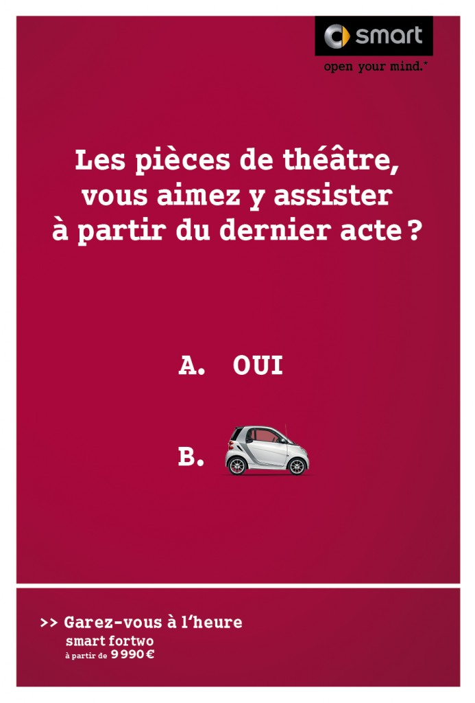 smart-publicité-marketing-affiche-print-garez-vous-à-lheure-question-oui-non-clm-bbdo-2