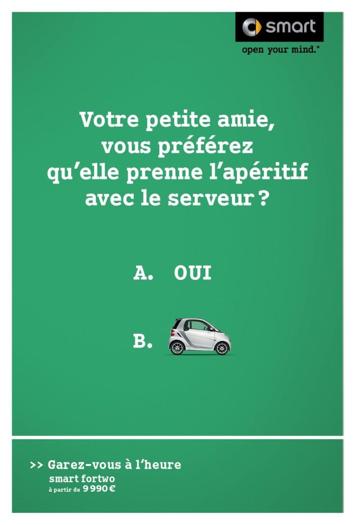 smart-publicité-marketing-affiche-print-garez-vous-à-lheure-question-oui-non-clm-bbdo-3