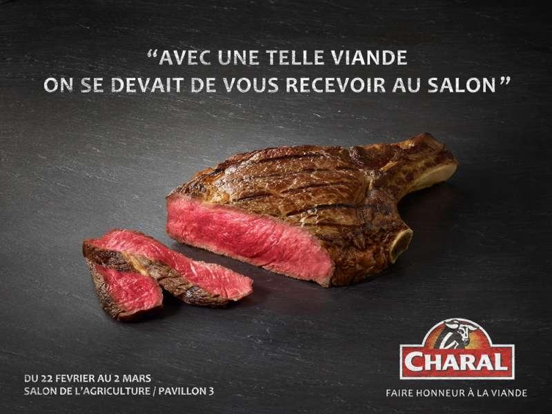 charal-viande-salon-de-l'agriculture-2014-publicité-affiche-qualité-salon-agence-leo-burnett-france