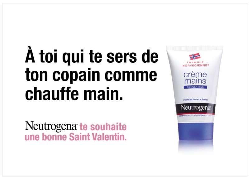 neutrogena-publicité-print-marketing-crème-mains-sèches-saint-valentin-copain-chauffe-mains-agence-ddb-paris