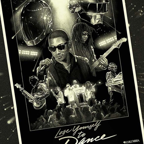 daft-punk-publicité-merchandising-marketing-ads-prints-lose-yourself-to-dance-poster-ram-random-access-memories-3