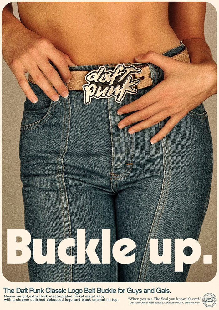 daft-punk-publicité-merchandising-marketing-ads-prints-tshirt-ceinture-belt-get-lucky-ram-random-access-memories-1
