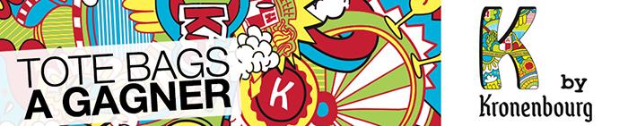 k-kronenbourg-nouvelle-bière-marketing-jeunes-lancement-tote-bags-cadeaux-à-gagner-jeu-concours-1