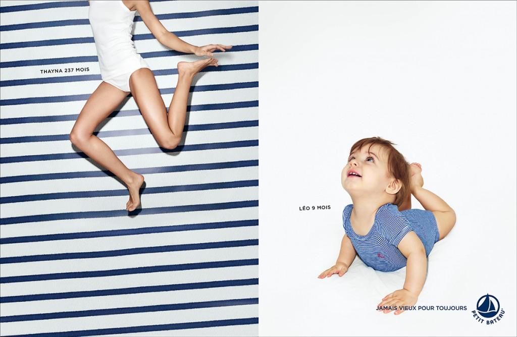 petit-bateau-publicité-marketing-marinière-rayures-bébé-adulte-avant-après-jamais-vieux-pour-toujours-agence-betc-1