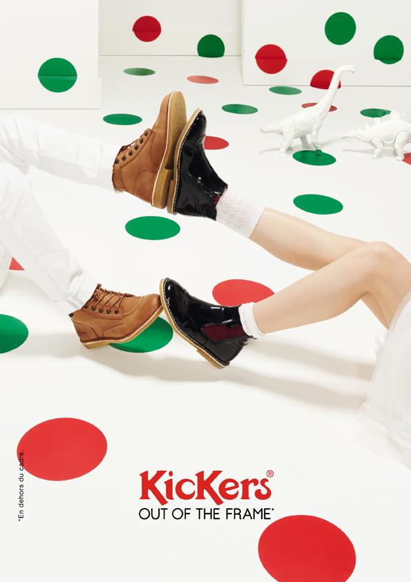 kickers-publicité-marketing-affiches-prints-rouge-vert-chaussures-homme-femme-enfant-out-of-the-frame-agence-la-chose-paris-3