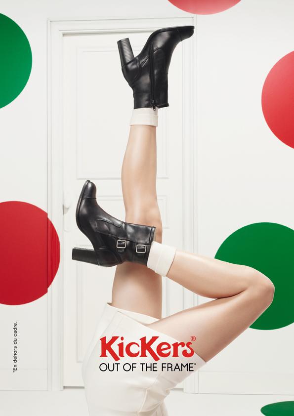 kickers-publicité-marketing-affiches-prints-rouge-vert-chaussures-homme-femme-enfant-out-of-the-frame-agence-la-chose-paris-4