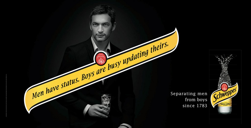 schweppes-publicite-marketing-affiche-separating-men-from-boys-women-from-girls-since-1783-agence-herezie-paris-1