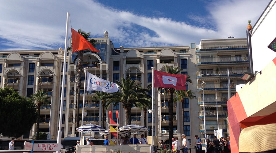 cannes-lions-2015-photos-google-beach-party-flags-youtube