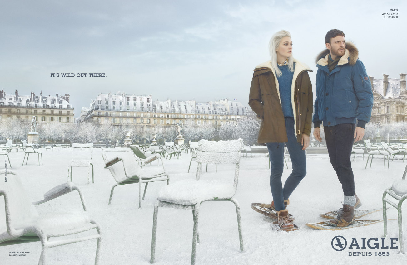 aigle-publicité-marketing-neige-paris-print-parka-expédition-raquettes-betc-2