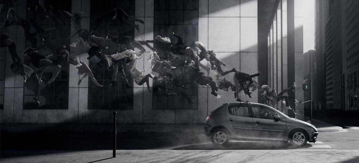 securite-routiere-voiture-publicite-telephone-sms-volant-pieton-agence-la-chose-2