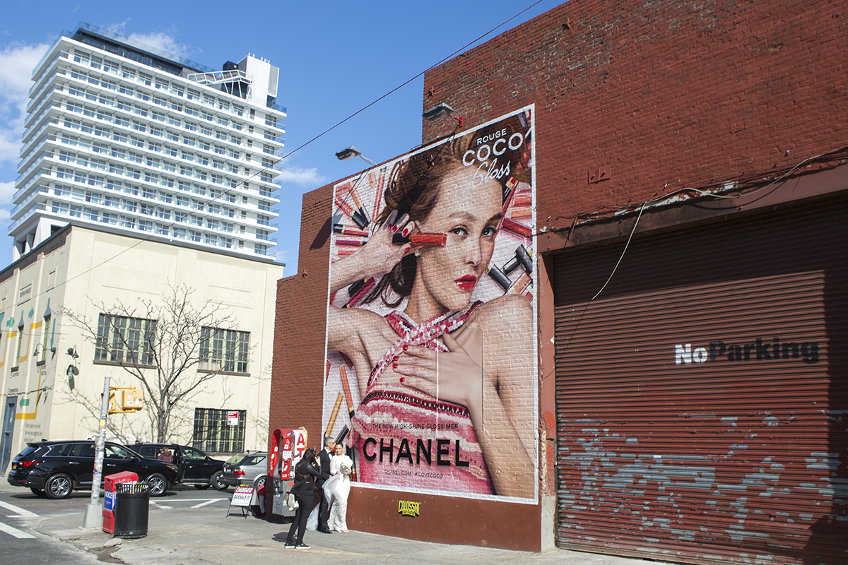 colossal-media-paint-ads-outdoor-advertising-nyc-brooklyn-chanel-coco-lily-rose-depp-1