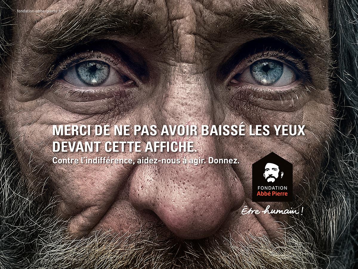 fondation-abbe-pierre-publicite-marketing-indiference-fuir-regard-yeux-altmann-pacreau-3