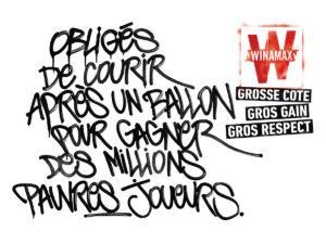 winamax-publicite-affichage-tag-graffiti-tbwa-paris-2019-courir-apres-un-ballon-gagner-des-millions