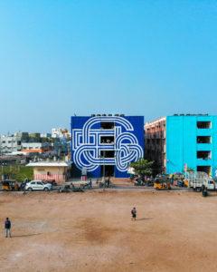 start-india-mural-painting-blue-type-typography-ben-johnston-artist-toronto-canada-2